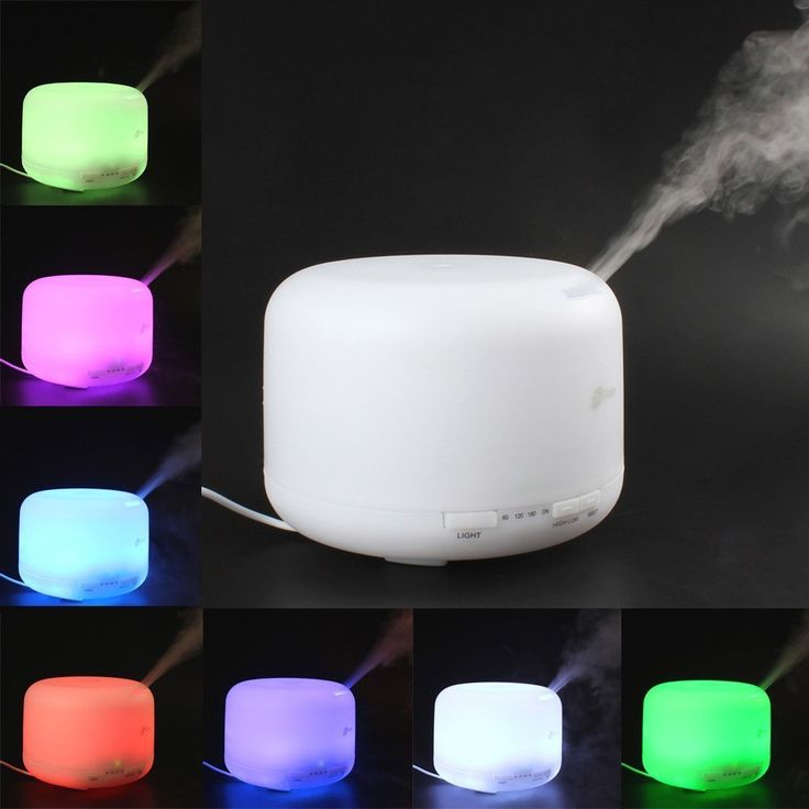 WONFAST® 500ML Ultrasonic Cool Mist Humidifier LED Color Changing Night Lamp Light Ionizer Aroma Essential Oil Diffuser Aromatherapy Diffuser with Timer Settings (Colorful Led) >>> Insider's special review you can't miss. Read more  : aromatherapy