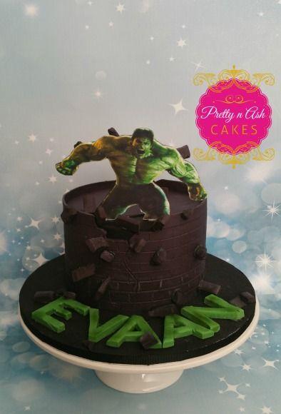 Increadible Hulk Cake