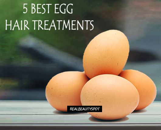 5 Best Egg hair treatments for hair problems