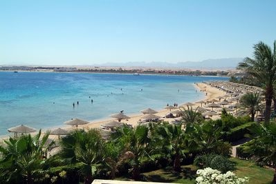 Makadi Bay, Egypt is a new resort located 35 km south of Hurghada.