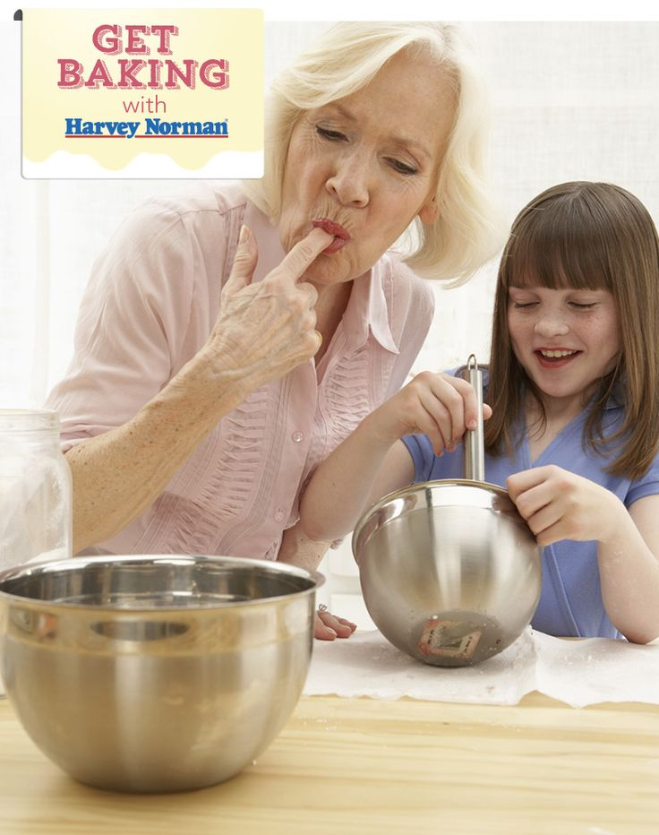 Is there someone special you love to bake with? Click http://apps.facebook.com/harveynormanbaking to show us! #GetBaking