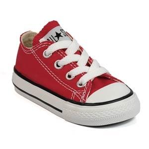 red kids' converse