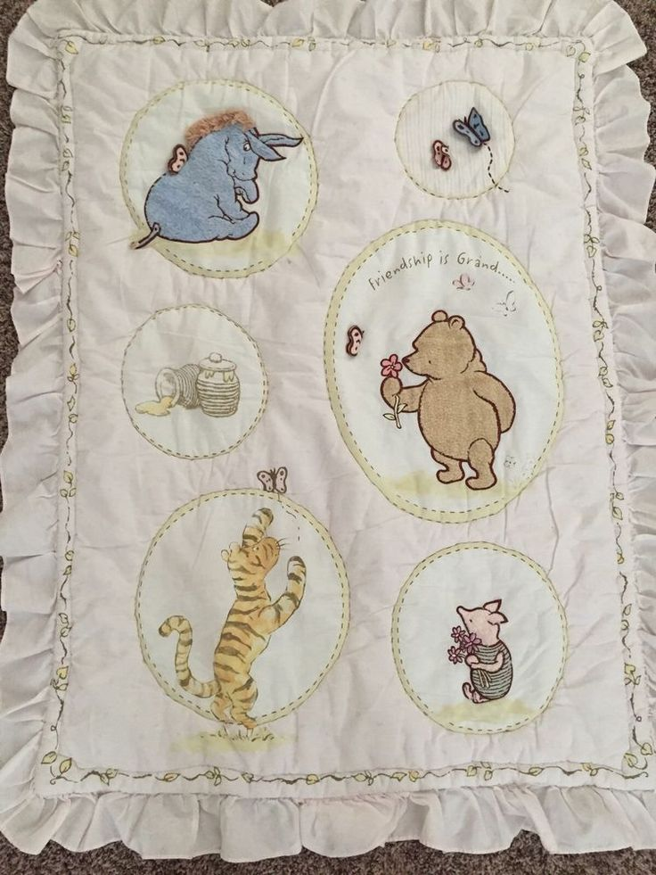 137 best Winnie the pooh images on Pinterest | Places to visit ... : winnie the pooh baby quilt - Adamdwight.com