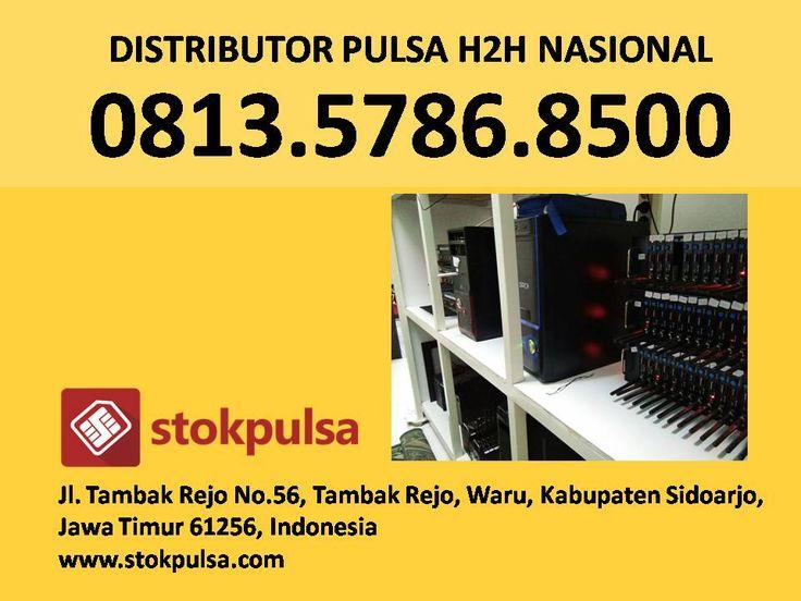 Agen Pulsa H2h All Operator Murah Nasional