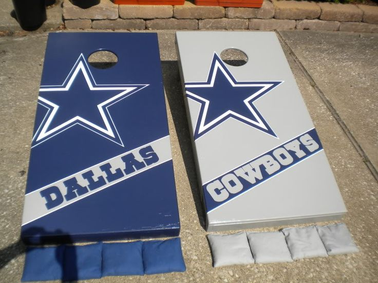 dallas cowboys cornhole boards | The Cornhole Game Player's Community