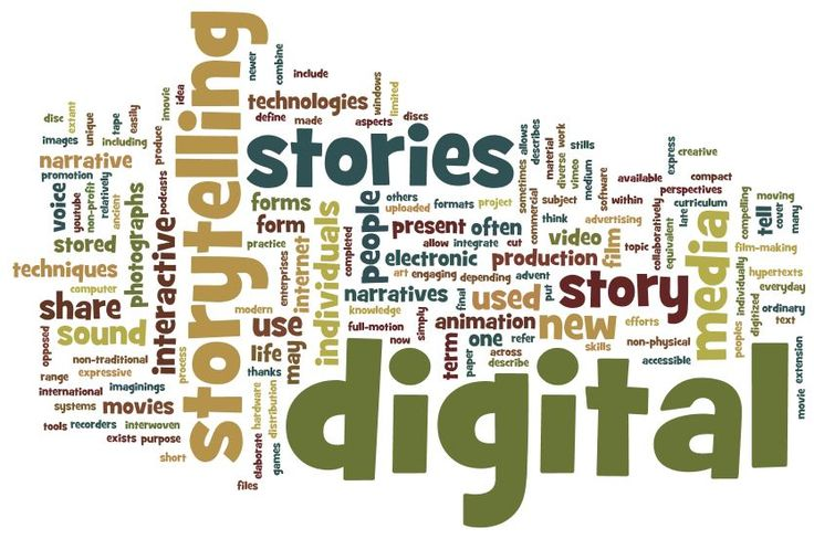 What's all the buzz about digital storytelling?