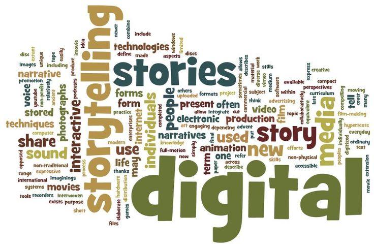 Il Digital Storytelling ovvero la Narrazione realizzata con strumenti digitali (web apps, webware) consiste nell'organizzare contenuti selezionati dal web in un sistema coerente, retto da una strut...