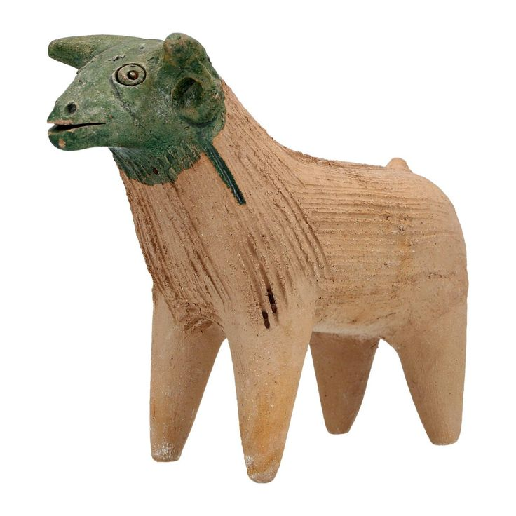 A Mexican Pottery Bull Sculpture