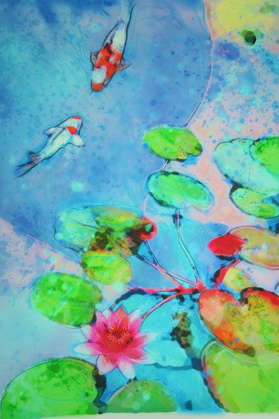 Koi art, Koi Friends Koi art art photography nature by dahliahousestudios, $119.00