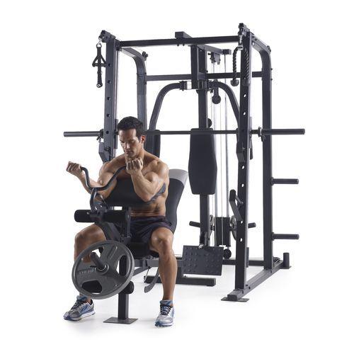 Weider Pro 8500 Smith Cage Machine Workout Home Gym