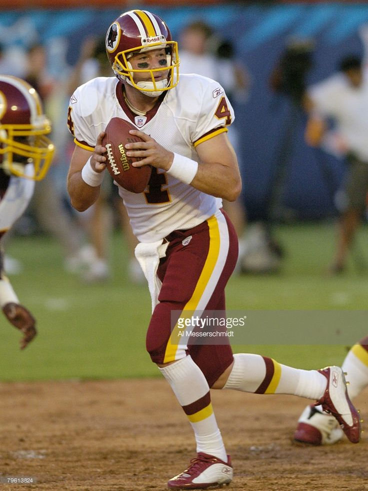 Washington Redskins QB  #4 Tim Hasselbeck (2003-2004)