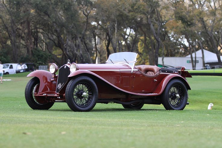1932 Alfa Romeo 8-c 2300 Zagato Spider from the 2015 Amelia Island Concours d'Elegance