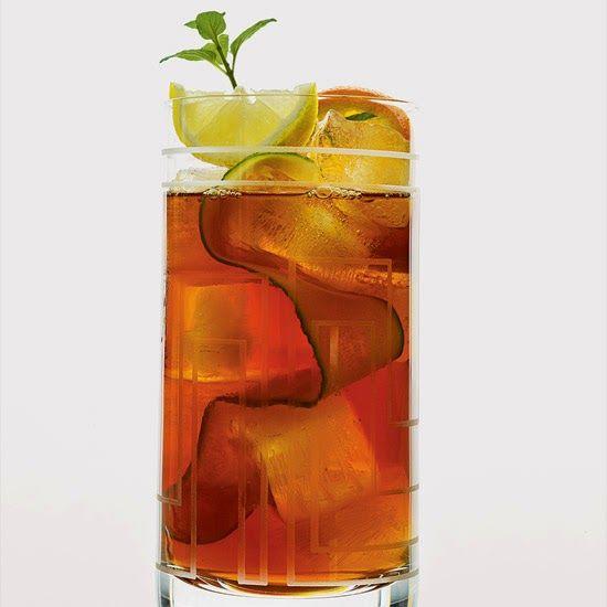 "Pimm's Iced Tea - great ""Tea-Time"" cocktail."