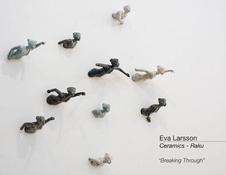 Eva Larsson  Ceramics / Céramique  Art & Craft  Velvet And Purple