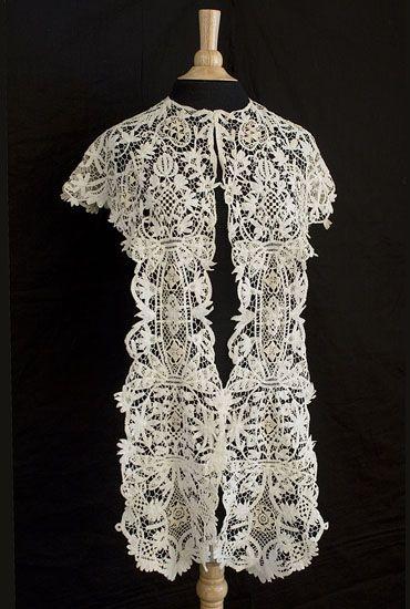 Irish lace shawl