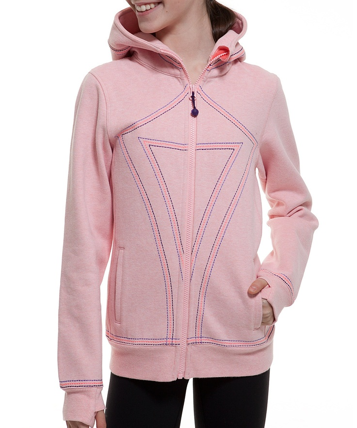 Cupcake Pink Stitch ivivva Hoodie from ivivva athletica by lululemon on