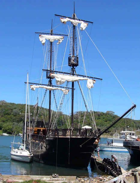 Pirate ship for sale.