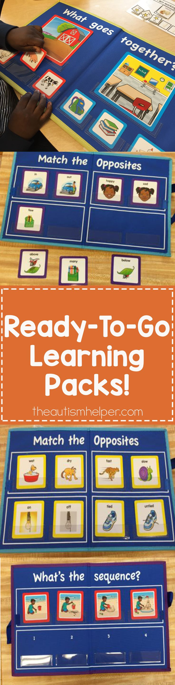 Lakeshore Learning's Ready-To-Go Learning Packs are convenient, great to use in therapy & work on multiple concepts in Sarah the Speech Helper's groups. So great when running school to school! From theautismhelper.com