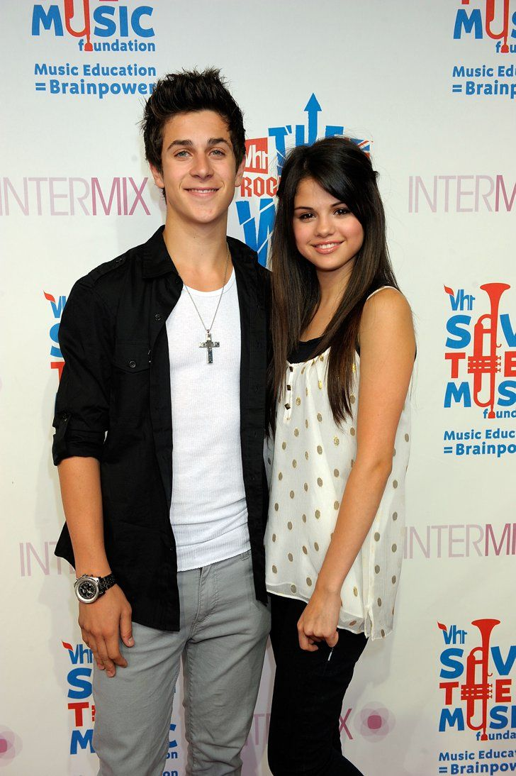 Pin for Later: Y'aurait-Il Une Malédiction Chez Les Co-Stars? 30 Couples Qui N'ont Pas Tenu La Route Selena Gomez et David Henrie
