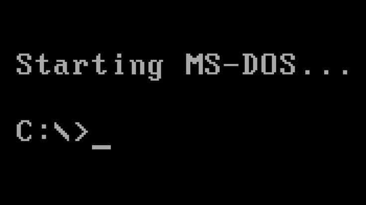 DOS ( Disk Operating System Türkçe: Disk İşletim Sistemi) bilgisayarlar için ufak...