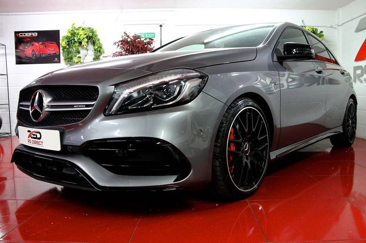 MERCEDES AMG 2.0 A45 4MATIC DYNAMIC PLUS LSD RACE MODE SPORTS EXHAUST PAN ROOF HARMON KARDON MASSIVE SPEC. 2016 10500 MILES 34999  RS Direct Are Humbled To Offer This Stunning Mercedes A45 AMG Premium Pack Car With A Hugh Spec Mountain Grey Metallic Harmon Kardon Hi Fi Panoramic Sliding Sunroof/Glass Sunroof AMG Dynamic Plus To Include (Uprated Steering Wheel Selective Dampers Limited Slip Diff Race Mode) Comand Online With Media Interface AMG Performance Exhaust Active Park Assist Reverse…