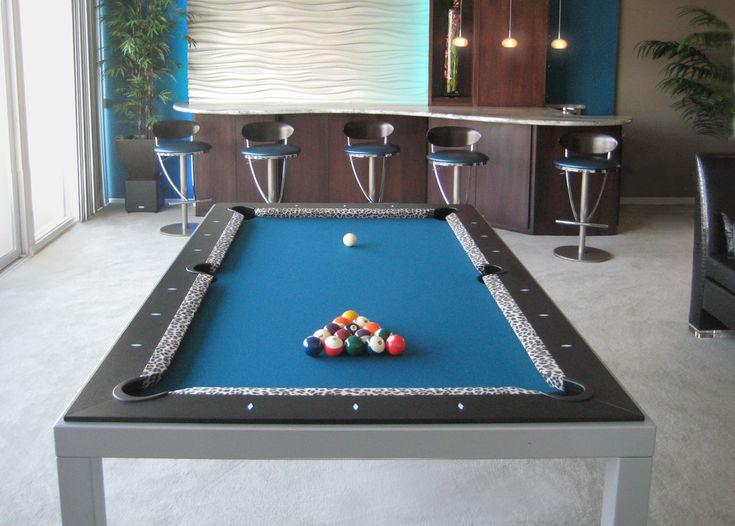 Show Your Wild Side U2013 DK Billiards Pool Table Moving U0026 Repair #dkbilliards  #diningpooltable Idea