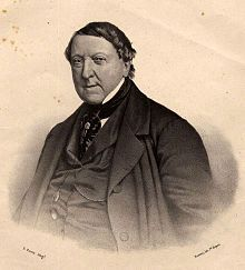 "Gioachino Rossini (1792-1868) - an Italian composer who wrote 39 operas as well as sacred music, chamber music, songs, and some instrumental and piano pieces.His best-known operas include the Italian comedies Il barbiere di Siviglia (The Barber of Seville) and La Cenerentola (Cinderella), and the French-language epics Moïse et Pharaon and Guillaume Tell (William Tell). A tendency for inspired, song-like melodies is evident throughout his scores, which led to the nickname ""The Italian Mozart"""