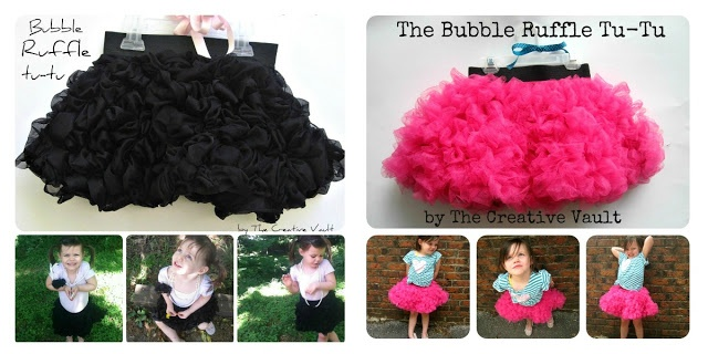 Precious Bubble Ruffle Tu-Tu Tutorial !