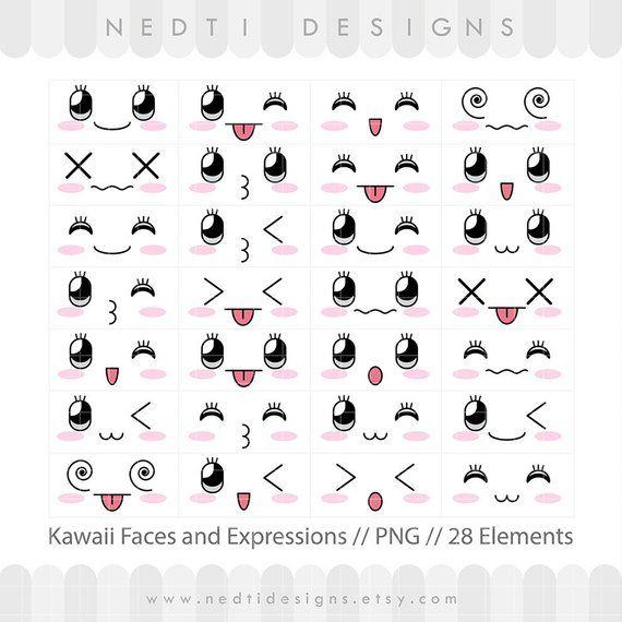 Kawaii Face Png Caritas Kawaii Transparent Png Kawaii Faces Kawaii Transparent Kawaii