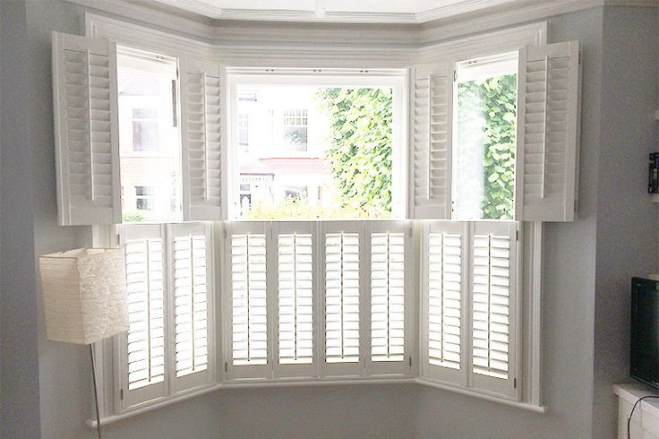 Craftwood MDF Shutters for Bay Windows