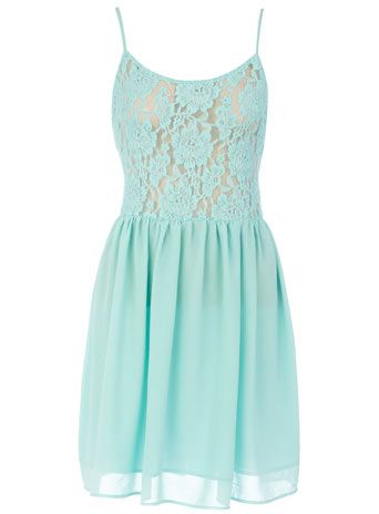 Dorothy Perkins  Mint strappy lace top dress: Fashion, Mint Strappy, Clothing, Dorothy Perkins, Lace Tops Dresses, Lace Top Dress, Strappy Lace, Mint Lace Dresses, Mint Dress