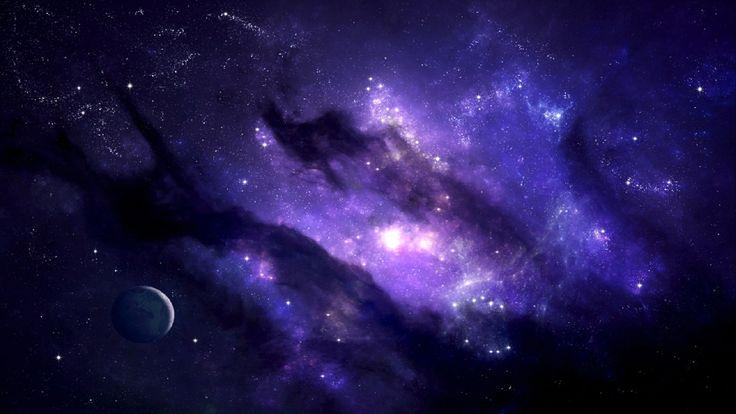 Purple Galaxy Purple