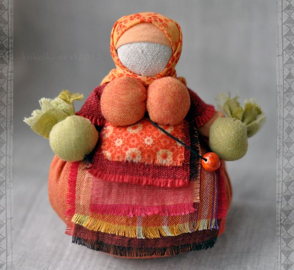 Народные куклы ручной работы. Ярмарка Мастеров - ручная работа Кукла Кубышка-травница. Handmade.