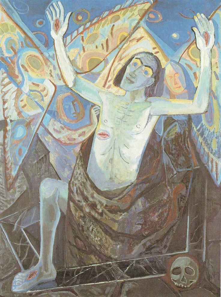 Otto Dix - Grande risurrezione di Cristo II, 1949 | Otto ...