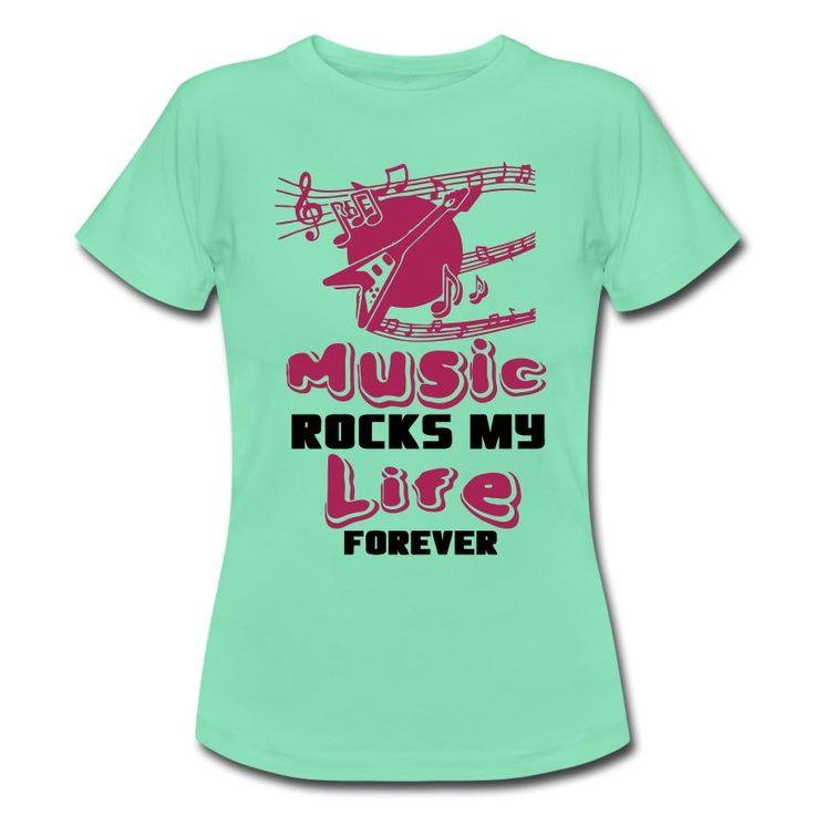 Music rocks my Life. Rockende Shirts und Geschenke für alle Musikliebhaber. #music #musik #rock #band #sänger #sängerin #gitarre #gitarrist #musiker #freizeit #song #sprüche #shirts #geschenke