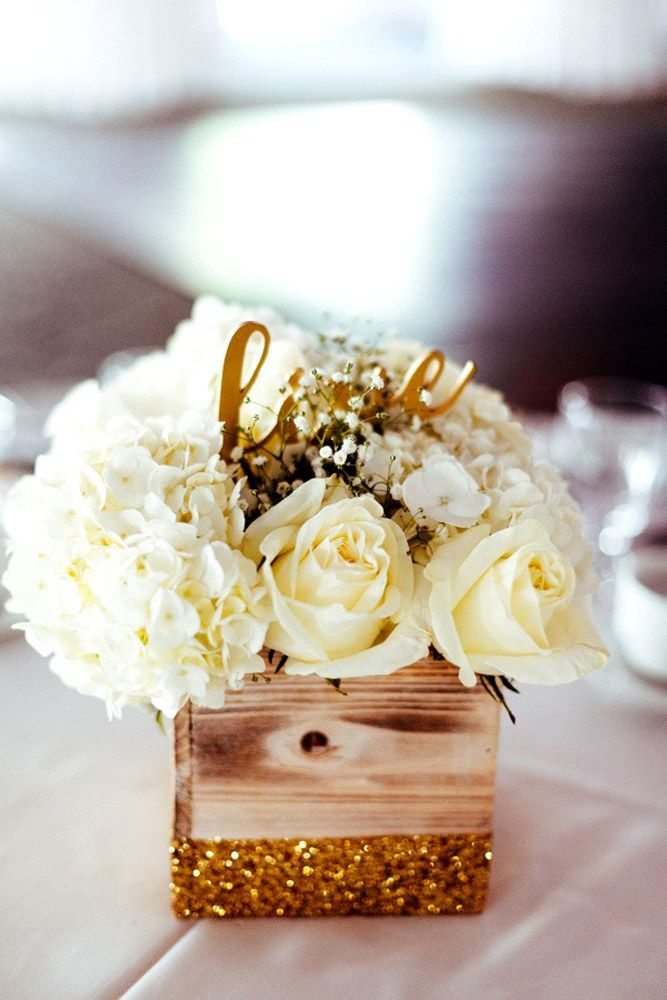 Color Theme: Luxury Gold Wedding Decorations ❤ See more…