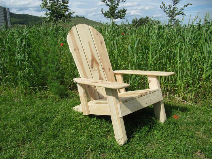LA Chaise Adirondack Quu0027il Vous Faut Pour Vous Relaxer Durant Lu0027été Fabriqué