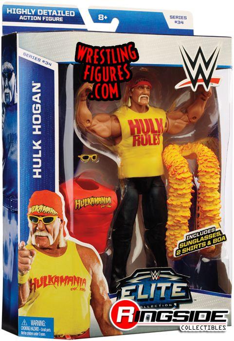 Hulk Hogan - WWE Elite 34 | Ringside Collectibles