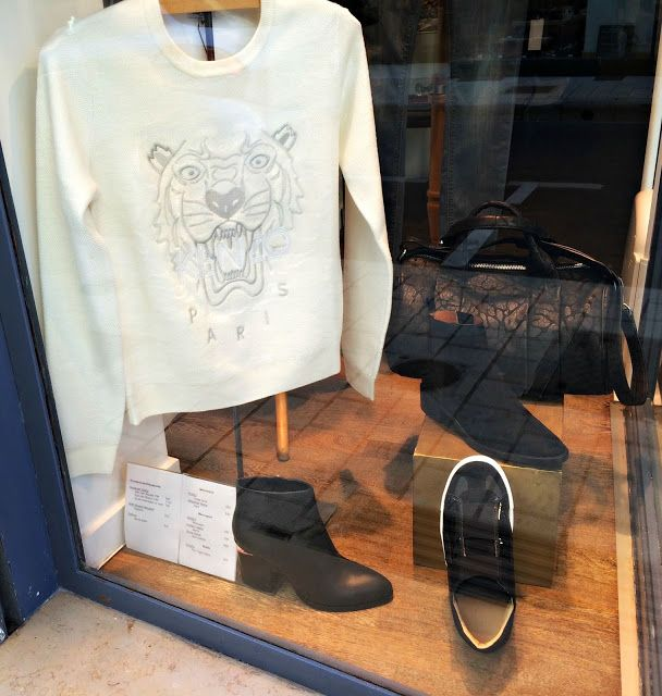 Boutique Place Des Lices: New window display! Fall/Winter 2015 collections : KENZO, Hudson Jeans, Alexander Wang, Sartore, Sonia Rykiel, Roseanna, IRO, Maison Margiela, MM6 : Place des Lices La Rochelle