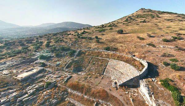 Ancient Theatre of Thorikos, Lavrio
