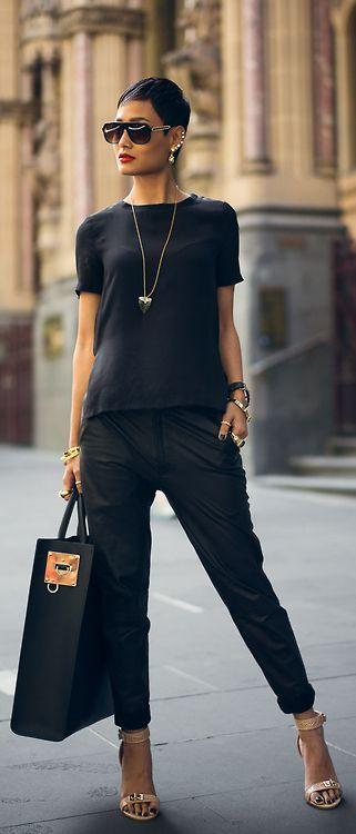 Black Street chic