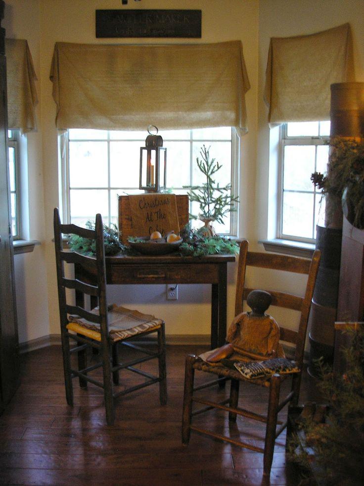 Taylors Farmhouse Attic Primitive Homes Decor