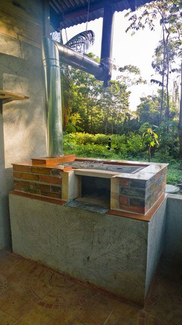 DIY Outdoor Wood Stove Oven Cooker Grill & Smoker   10 Degrees Above