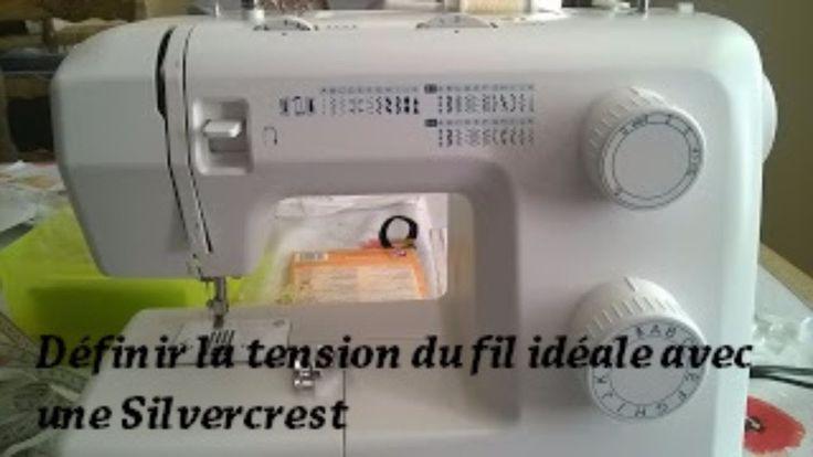 Couture - Définir la tension idéale du fil avec une Machine à coudre Sil...