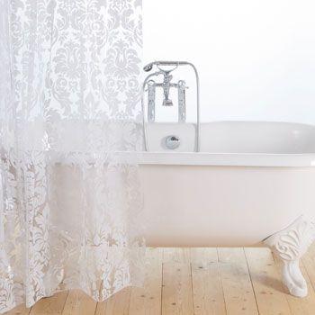 Zara Home Decorative Shower Curtain