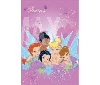Παιδικό Χαλί Disney Tinkerbell 4