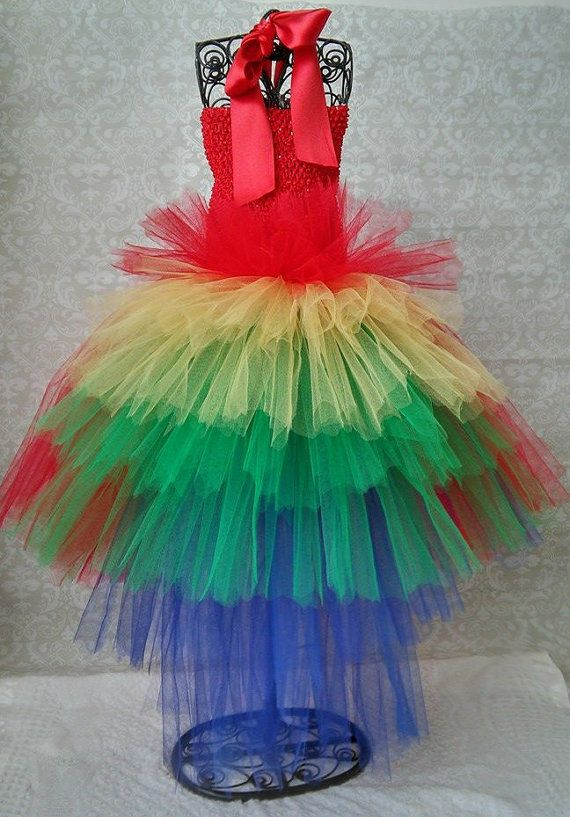 Parrot Tutu Costume Dress by GigglesandWiggles1 on Etsy