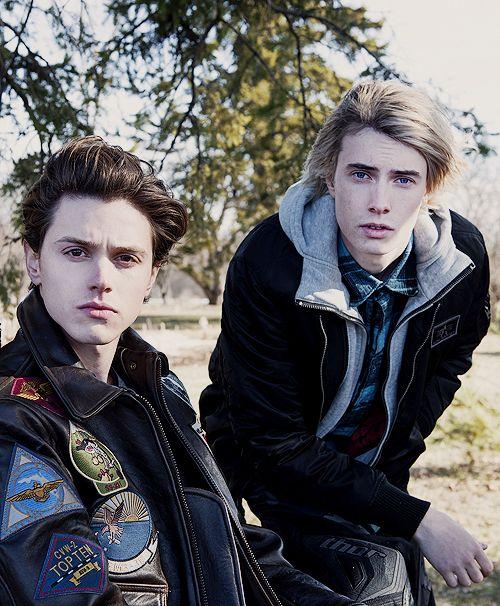 Male Skylar and Fletcher