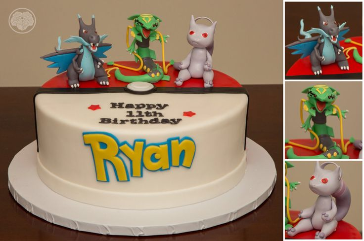 Charizard Birthday Cake