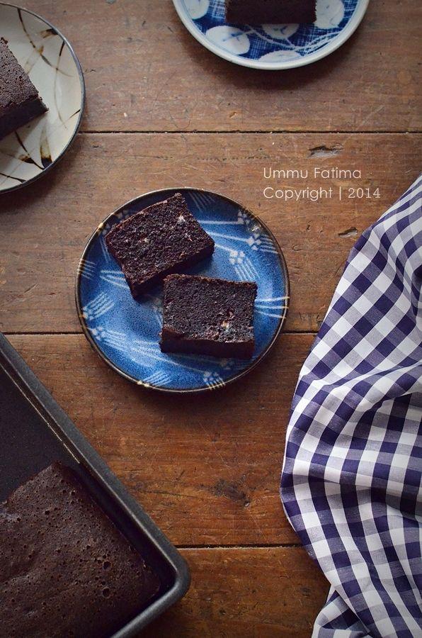 Simply Cooking and Baking...: Cake Pisang Coklat Ketan Hitam